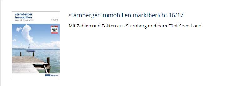 Marktbericht Starnberg