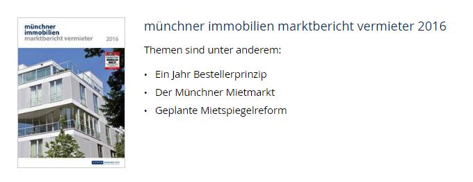 Marktbericht Vermieter 2016
